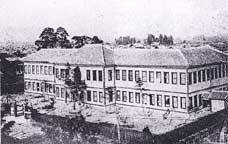 福島時代の旧校舎