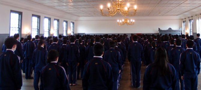 安積高校 応援歌練習(4月28日)